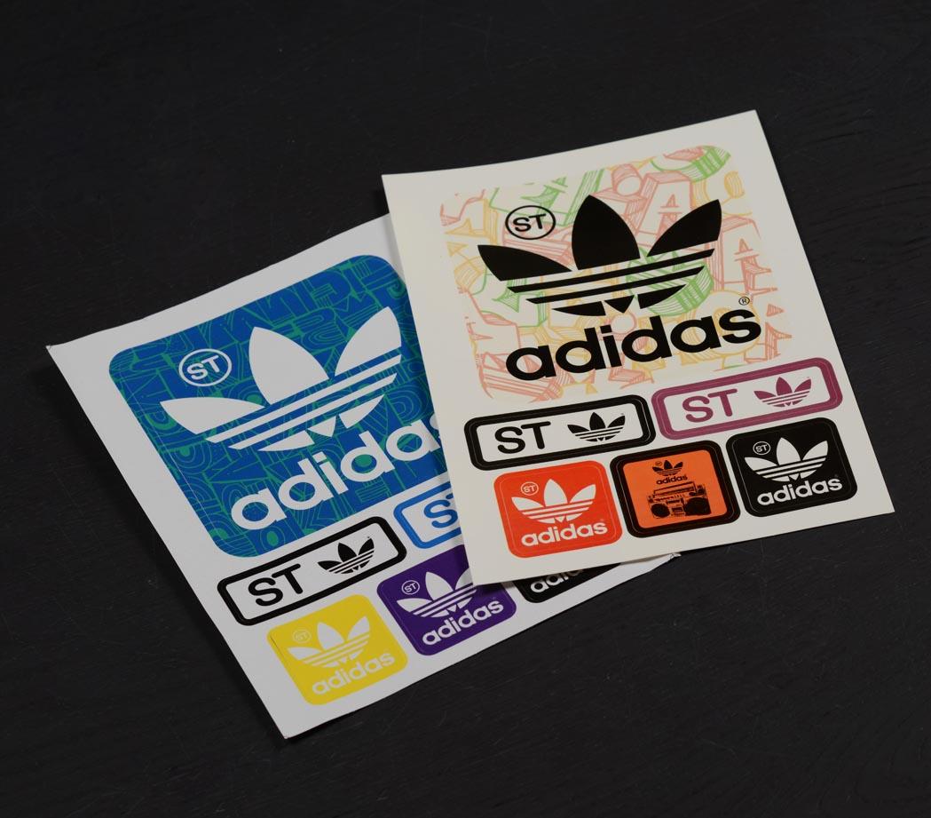 Naklejki - Adidas